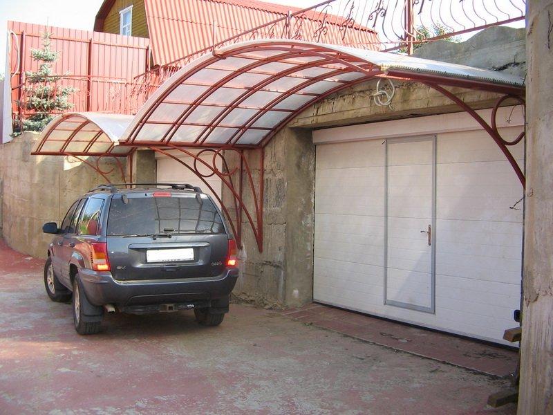 Над гаражом своими руками